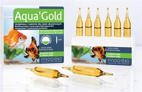 Prodibio Aqua`Gold кондиционер и бактериальная культура  для золотых рыбок (12шт на 180 литров)