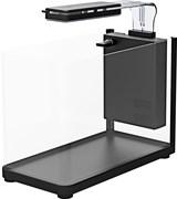 Аквариум Atman RGT-35 черный, 13 литров, 35,4х18,4х26 см (в комплекте внутренний фильтр, LED светильник, покровное стекло)