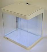 Аквариум Atman XR-320 белый, 25 литров, 32х24х32см,с LED светильником и фильтром