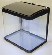 Аквариум Atman XR-320 черный, 25 литров, 32х24х32см, с LED светильником и фильтром