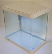 Аквариум Atman XR-380 белый, 35 литров, 38х25х37см, с LED светильником и фильтром