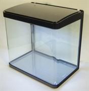 Аквариум Atman XR-380 черный, 35 литров, 38х25х37см, с LED светильником и фильтром