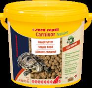 sera Reptil Professional Carnivor Nature 3,8 л - корм для плотоядных рептилий (в т.ч. водных черепах)