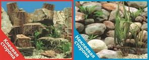 Фон двусторонний 60x30см с одной самоклеящейся стороной Каменная терасса (СК)/Каменный рельеф