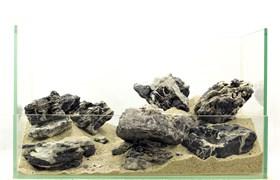 """GLOXY """"Белый тигр"""" набор камней разных размеров (упаковка-20 кг)"""