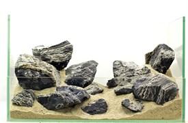 """GLOXY """"Зебра"""" набор камней разных размеров (упаковка-20 кг)"""
