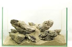 """GLOXY """"Слоновья кожа"""" набор камней разных размеров (упаковка-20 кг)"""