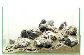 """GLOXY """"Снежный каньон"""" набор камней разных размеров (упаковка-20 кг)"""