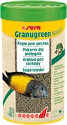 sera Granugreen Nature 1 л - корм для травоядных цихлид (гранулы)