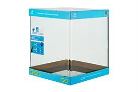 PRIME - аквариум 31л без швов на передней стенке, 30х30х35 см, с покровным стеклом