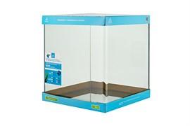 PRIME - аквариум 47л без швов на передней стенке, 35х35х39 см, с покровным стеклом