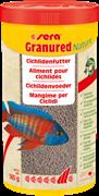 sera Granured Nature 1 л - корм для плотоядных цихлид (гранулы)