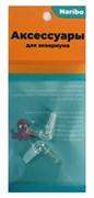 Соединитель воздушный Naribo пластиковый Г-образный (2шт)