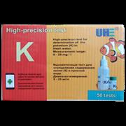 UHE K test - тест для определения концентрации калия в воде