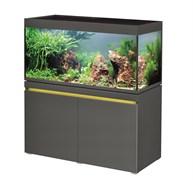 EHEIM incpiria 430л графит  - комплект аквариум с тумбой, тумба с декоративной LED подсветкой