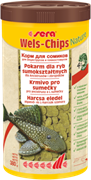sera Wels chips Nature 1000 мл - корм для лорикариевых сомов (присосок)