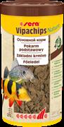 sera Vipachips Nature 1000 мл - корм для всеядных донных рыб