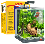 sera Biotop Nano LED Cube 16 - полностью укомплектованный оборудованием аквариум