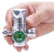 ISTA Регулятор СО2 с манометром, игольчатым клапаном для одноразовых картриджей