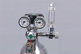 ISTA Редуктор СО2 с электромагнитным клапаном, счётчиком пузырьков и обратным клапаном