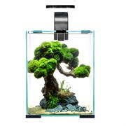 AQUAEL Shrimp set Smart LED Day/Night 10 л - аквариум с набором оборудования, черный