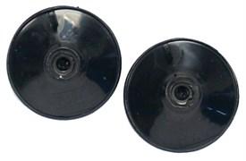 Dennerle Longlife присоски для СО2 аксессуаров, черные, 2 шт