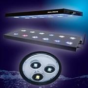 AQUA-MEDIC LED Spectrus 60 - светильник, 6 рег. каналов, WiFi, iOS/Android, 160Вт, 560 x 265 x 32 мм