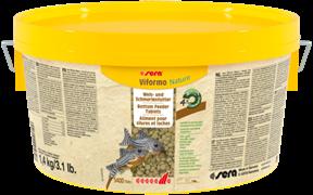 sera Viformo Nature 2л 1,4 кг- корм в таблетках для всех видов донных рыб