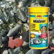 JBL NovoMalawi 160 г (соответствует фирменной банке 1 л) на развес - Корм в форме хлопьев для растительноядных цихлид из озер Малави и Танганьика