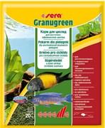 sera Granugreen 20 г - корм для травоядных цихлид (гранулы)