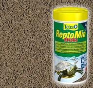 Tetra ReptoMin 270г на развес (эквивалент банки 1л) - полноценный корм для водных черепах и других плотоядных рептилий