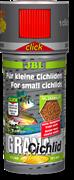 JBL GranaCichlid CLICK 250 мл. (110 г.) - Основной корм класса премиум в форме гранул для плотоядных цихлид в банке с дозатором