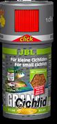 JBL GranaCichlid CLICK 100 мл. (45 г.) - Основной корм класса премиум в форме гранул для плотоядных цихлид в банке с дозатором