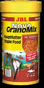 JBL NovoGranoMix 250 мл. (110 г.) - Основной корм в форме смеси гранул для общих аквариумовбанка