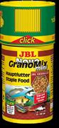 JBL NovoGranoMix mini Click 100 мл. (38 г.) - Основной корм в форме смеси мини-гранул для маленьких рыббанка с дозатором