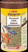 sera Vipagran Nature 250 мл - универсальный корм для всех видов рыб (гранулы)