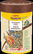 sera Vipagran Nature 100 мл - универсальный корм для всех видов рыб (гранулы)