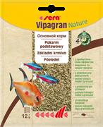 sera Vipagran Nature 12г - универсальный корм для всех видов рыб (гранулы)