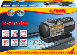 sera X-Feeder - автоматическая кормушка для рыб