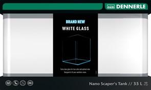 Dennerle Nano Scaper's Tank White Glass 35 литров - аквариум из осветленного стекла