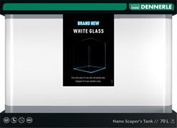 Dennerle Nano Scaper's Tank White Glass 70 литров - аквариум из осветленного стекла