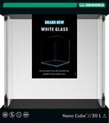 Dennerle Nano Cube White Glass 30 литров - аквариум из осветленного стекла