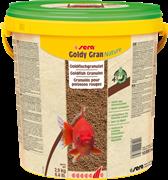 sera Goldy gran Nature 10 л - гранулированный корм для золотых рыбок