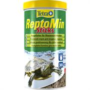 Tetra ReptoMin Sticks 1000 мл - полноценный корм для водных черепах и других плотоядных рептилий
