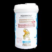 """AQUAMENU """"Экзокальций + D3"""" 100 мл – добавка к корму c витамином D3 для всех видов рептилий, способствует развитию костей и помогает избежать симптомов недоедания"""